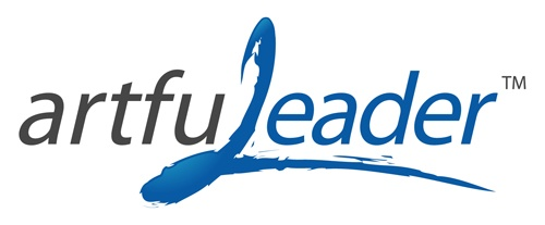 New Client Logo for The Artful Leader - Check us out at www.bluecowcreative.ca