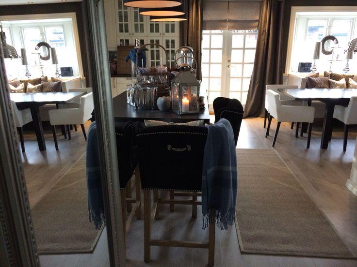 Black and white kitchen Instagram: camillashome