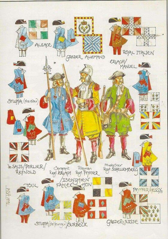 Army of Louis XIV (3)