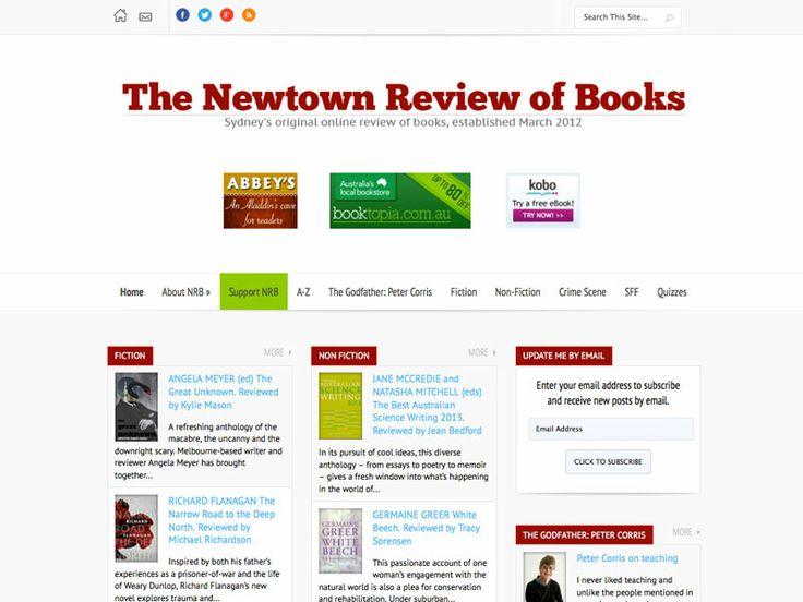 newtownreviewofbooks.com.au - from wordpress.com to hosted wordpress.org - January 2014