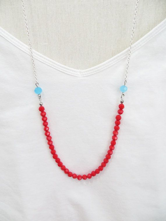 Hey, I found this really awesome Etsy listing at https://www.etsy.com/listing/185059330/the-strand-necklace-glass-beads-on-chain