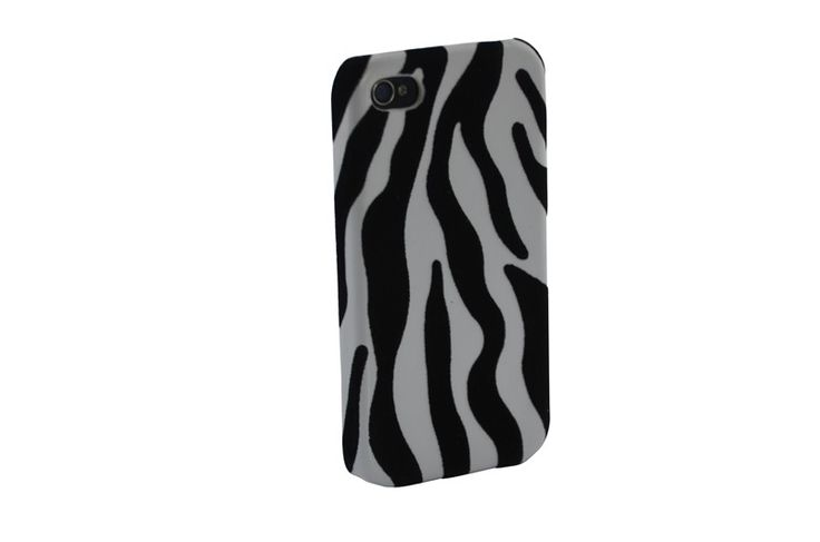 Hardcover Snap Case hoesje iPhone 4/4S Zebraprint