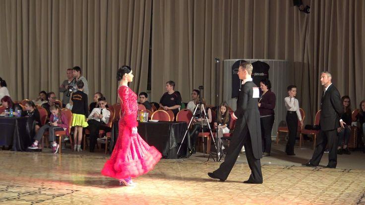 DANCE ALL STARS BUCURESTI 2017*RAUL SI ANDRA* WDSF OPEN STANDARD