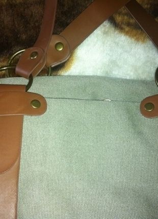Kup mój przedmiot na #vintedpl http://www.vinted.pl/damskie-torby/torby-na-ramie/11013383-torba-torebka-khaki-pojemna