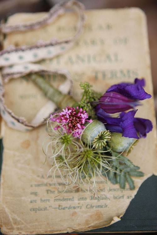 a bouquet from the past