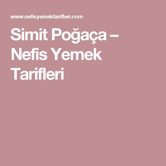 Simit Poğaça – Nefis Yemek Tarifleri