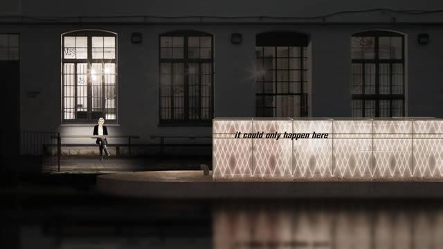 Floating Cinema 2013 design, Duggan Morris Architects. Courtesy: UP Projects
