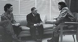 Симона де Бовуар, Жан-Поль Сартр, Че Гевара. Куба, 1960