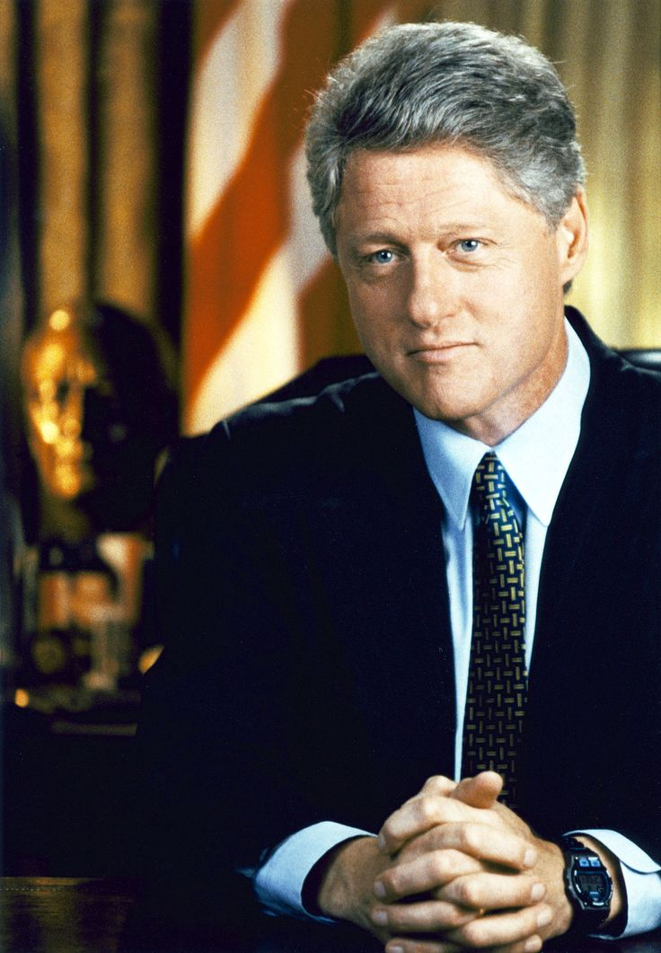 "President William ""Bill"" Jefferson Clinton, 42nd President of the U.S., 1993-2001."