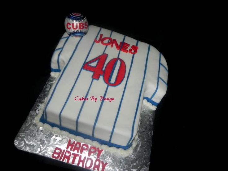 Chicago Cubs Cake My Cakes Confections Chicago Cubs Birthday Cake