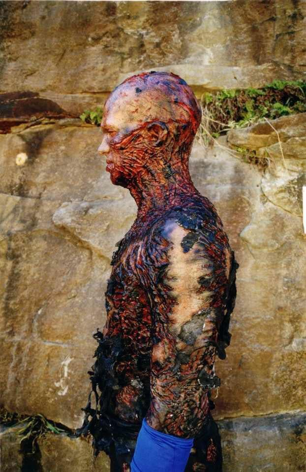 Rare Photo Of Hayden Christensen S Battle Scarred Makeup For His Scene Following The Duel On Mustafar In Revenge Of The Sith Star Wars Episodes Star Wars Love Star Wars Artwork