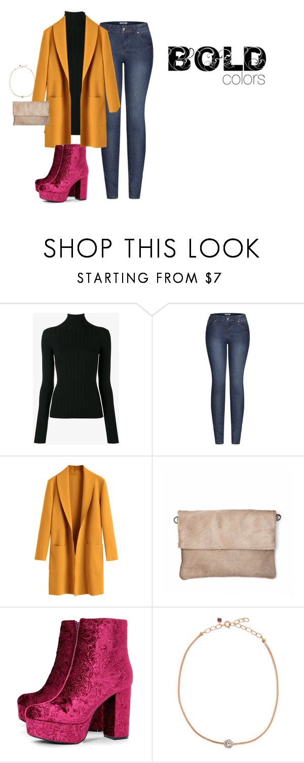 """""""Bold Colors"""" by erinhillsboro on Polyvore featuring Acne Studios, 2LUV, Boohoo and Selim Mouzannar"""