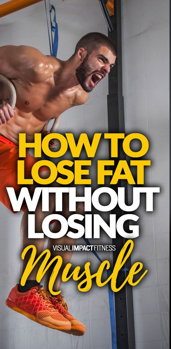 Calorie deficits always lead to weight loss... here is how you make sure you keep all your muscle while only losing body fat.