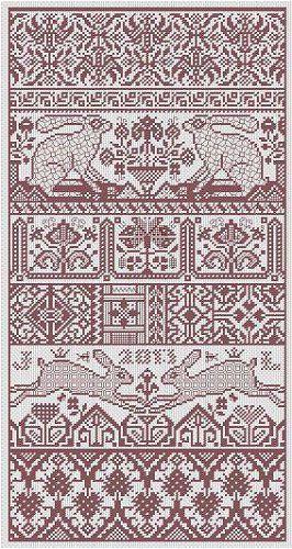 Long Dog Samplers - Cross Stitch Patterns & Kits - 123Stitch