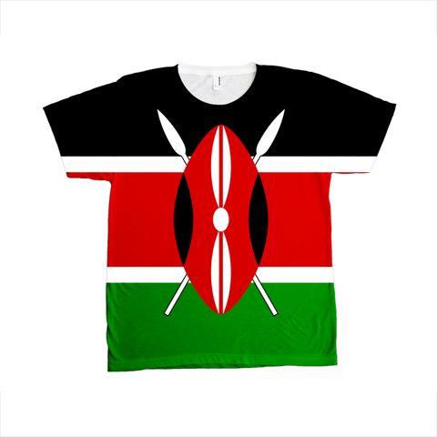 Kenya Flag T-SHIRT - Unisex