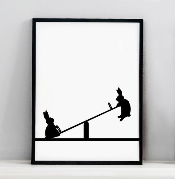 ham-seesawing-rabbit-print-Talo_Interiors