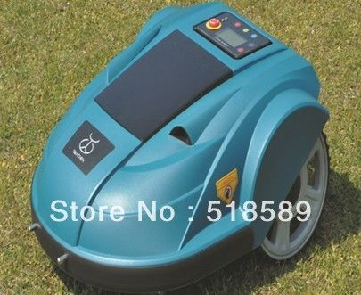 Robot auto lawn mower auto grass cutter, Lead-acid battery, auto recharge, intelligent grass cutter garden tool free shipping