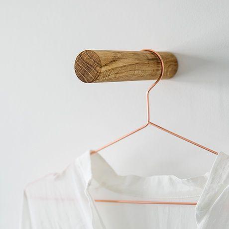 die besten 25 wandhaken ideen auf pinterest wiederverwerten recyceln upcycling projekte und. Black Bedroom Furniture Sets. Home Design Ideas