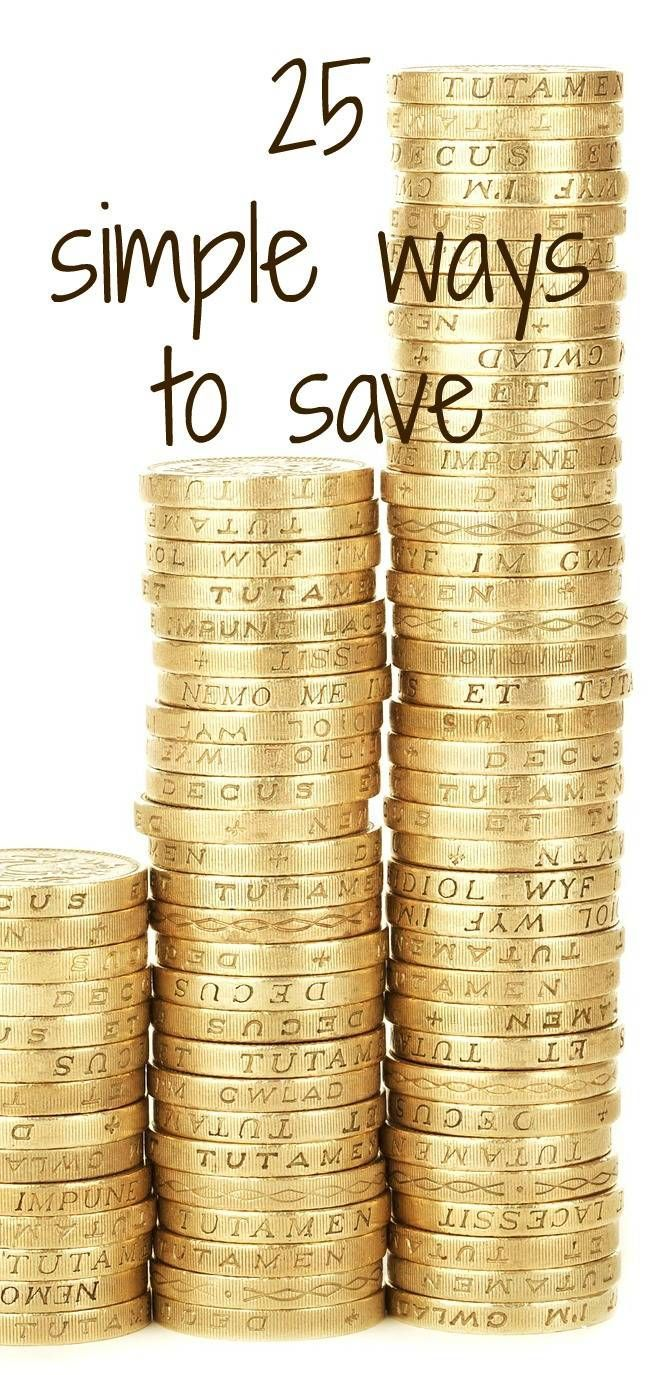 25 simple ways to save smarter Advice and tips to help your budget stretch further and enhnace your money saving skills. These are simple easy money saving tips hat you can easily incorporate into a thrifty lifestyle and frugal way of being