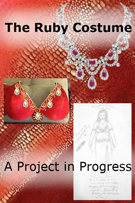 The Ruby Costume Project in Progress