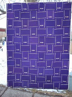 Annsarts: Crown Royal Bag Quilt