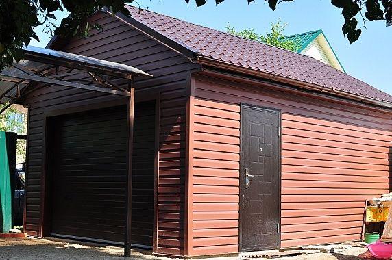 ГАРАЖ 3,6 Х 6 м в д. Новлянское  Стандартный размер гаража для одной машины, позволяет вместить практически любой тип легкового авто. И даже останется место для хранения в задней части гаража и вдоль стен.