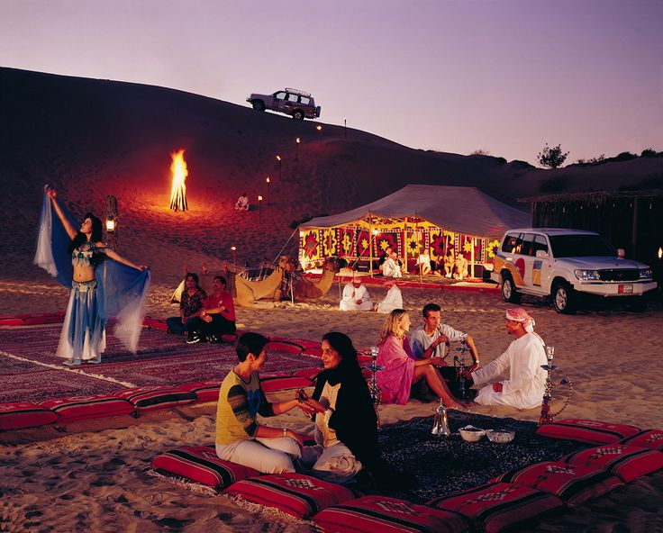 Spend a night in the Arabian Desert! Settle down for the night in tents and sleeping bags under the stars. Take the opportunity to enjoy the tranquility of the desert by night. www.aesu.com/alltrips/dxb/