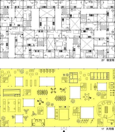 Le Corbusier Monastery Floor Plans Le Corbusier Plan Obus