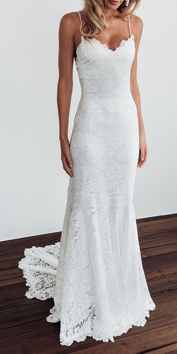 The HART gown | Grace Loves Lace #weddingdress #beachweddingdress
