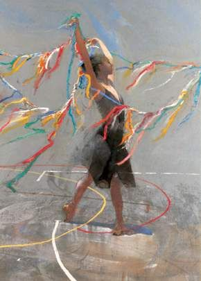 """""""Colored Ribbons"""" - by Robert Heindel"""