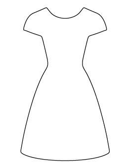 dress pattern pro děti Šablony pinterest pattern templates