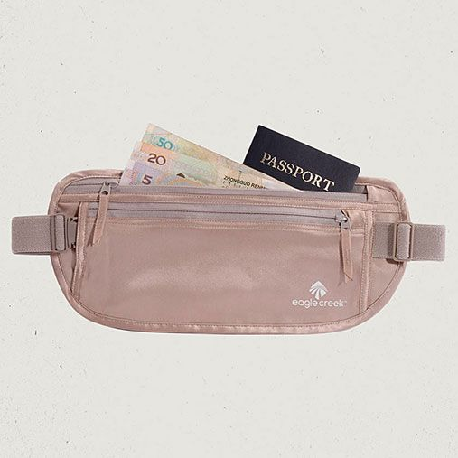 Eagle Creek Official Store, Silk Undercover™ Money Belt, rose, Money Belts & Neck Wallets, EC-41123