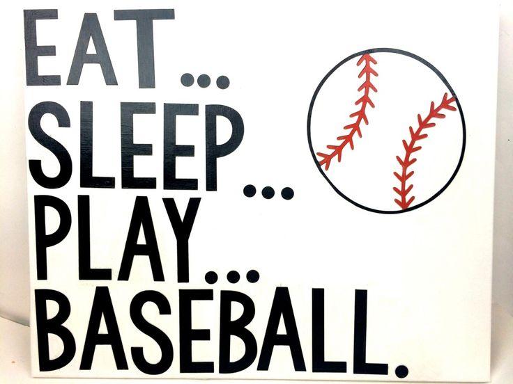 DIY Baseball Canvas | Sizzix Teen Craft - A Little Craft In Your DayA Little Craft In Your Day