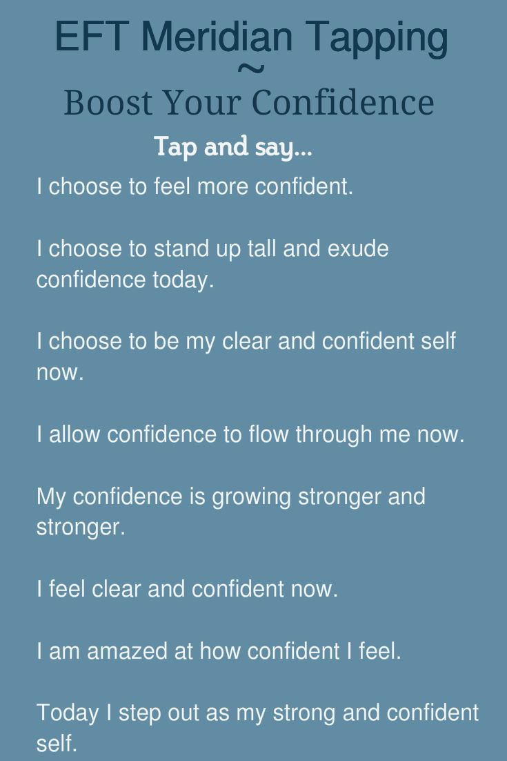 EFT Meridian Tapping - Boost Your Confidence | Kathy Atkinson, Success Coach, EFT Practitioner