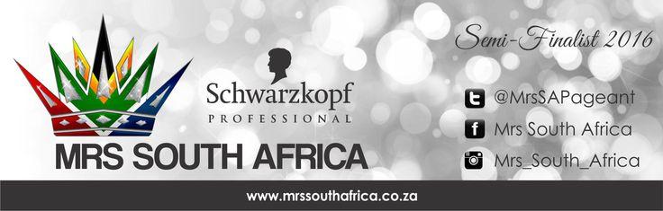 Schwarzkopf Professional Mrs South Africa semi - finalist 2016