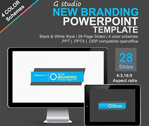 13 best powerpoints images on pinterest presentation layout gstudio new branding presentation template toneelgroepblik