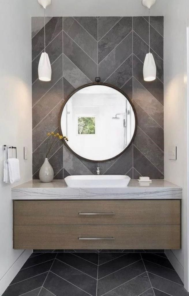 42++ Modern vanity for powder room inspiration