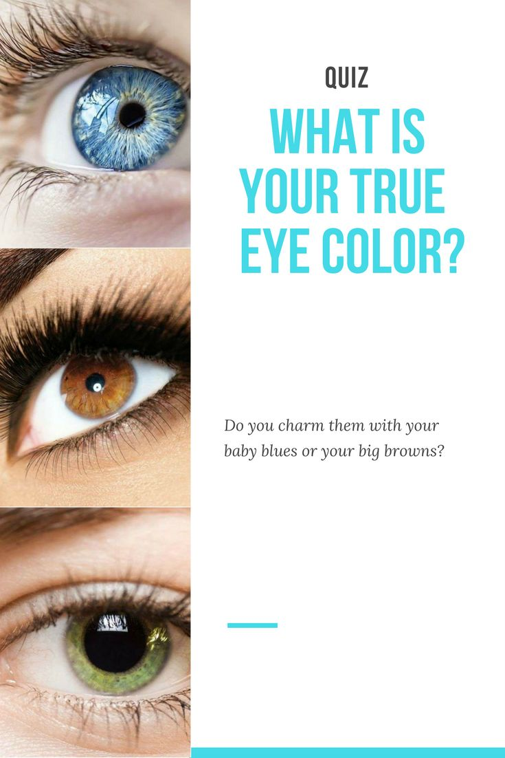 Do you charm them with your baby blues or your big browns?
