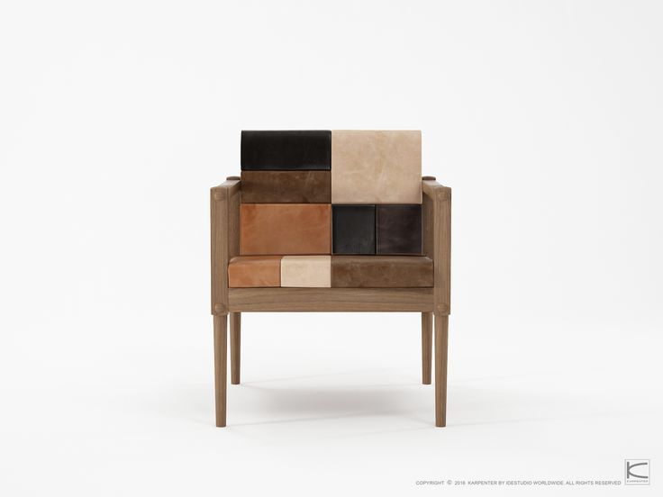 Exquisite details merged with fine, simplistic lines, define the Katchwork collection. The blend of patterns and textures from solid wood and leather brings richness and depth to the design, which borrows its inspiration from 1950s and 1960s Scandinavia but with a contemporary flare. Ideal for urbanites, the collection speaks of the owner's love for retro modern designs.  www.karpenter.com