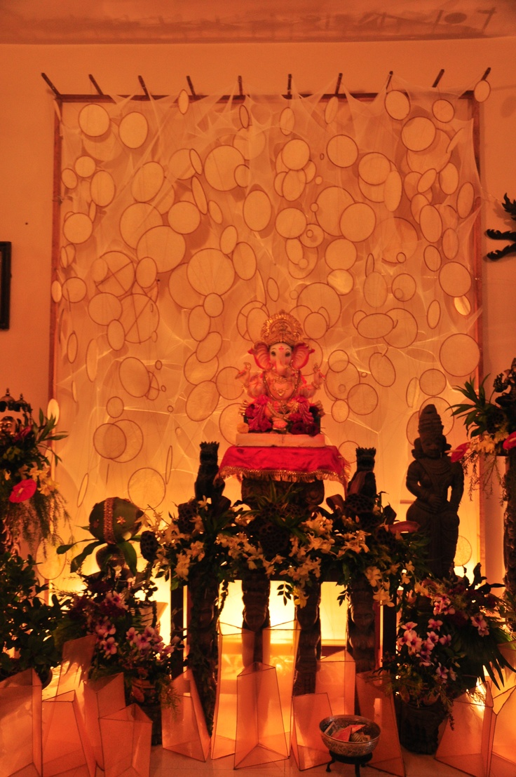 installation_ganpati celebration2012_KAVAN SHAH