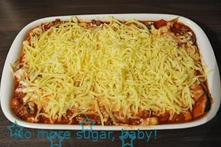 Low Carb Zucchini Lasagne - deutsches Rezept