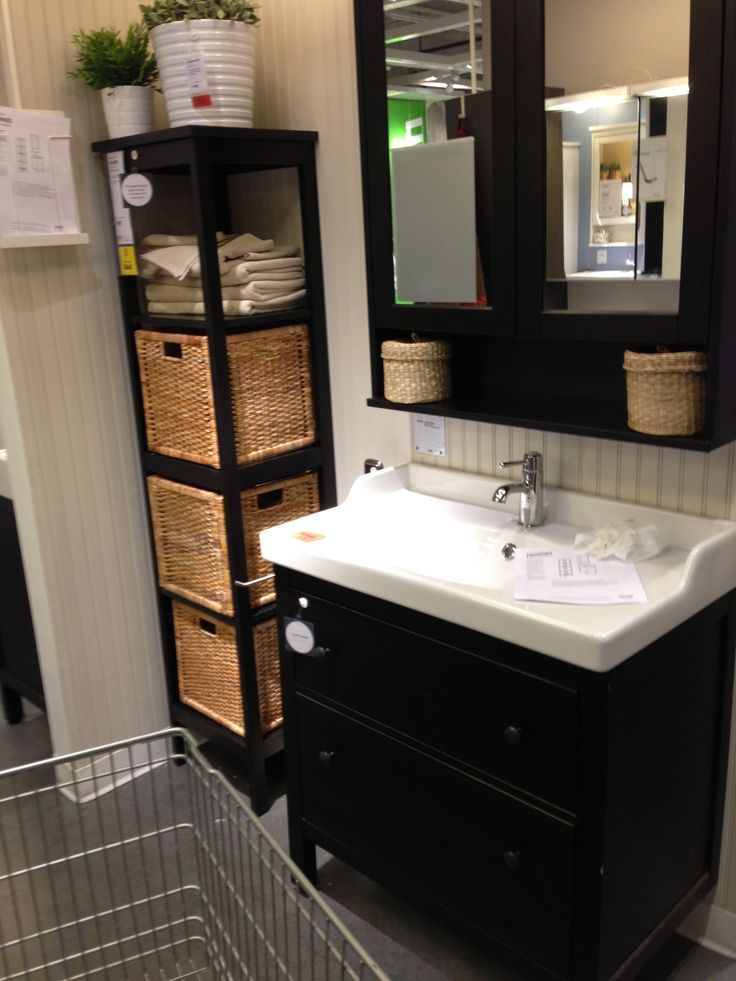 Small Bathroom Restroom Pinterest Cabinets Storage