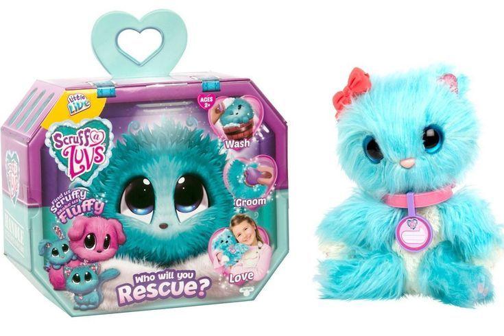 Little Live Pets Scruff A Luvs Blue Plush Surprise Rescue Pet