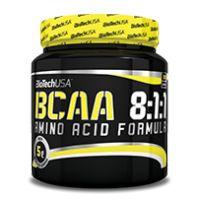 A BCAA-k az emberi szervezet számára esszenciális, 9 aminosav közé tartoznak, ami azt jelenti, hogy a test nem képes produkálni, előállítani, csak táplálékkal vagy táplálék-kiegészítőkkel juthatunk ezekhez a nagyon fontos tápanyagokhoz. A BioTechUSA BCAA 8:1:1 terméke, a fehérjeépítő aminosavak közül a szervezetben elsőként felhasznált aminosav, a leucin megnövelt mennyiséget tartalmazza.