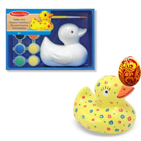 DAY 2 FIND: Melissa & Doug Decorate Your Own Rubber Duck - quack quack! The competition just keeps getting better! #easter #easter2016 #egghunt