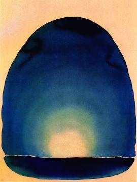 Georgia O'Keeffe - Light Coming On The Plains. I could stare at this for hours. Would definitely love to own a large print of this one day.