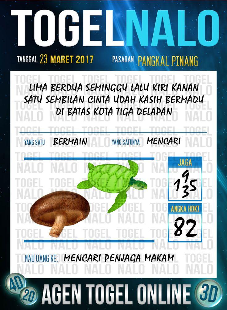 Kode Angka 4D Togel Wap Online TogelNalo Pangkal Pinang 23 Maret 2017