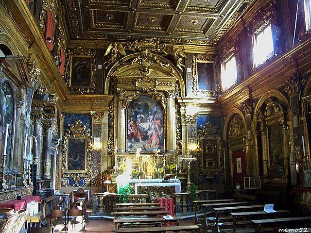 Senigallia - Chiesa della Croce (interno) (Italy)   da memo52foto