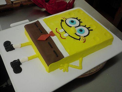 Sponge Bob Cookie Cake