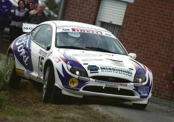Nicky Grist-Yves Preal Ford Puma S1600